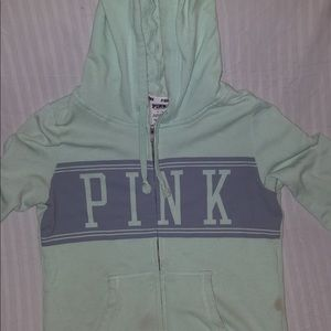 mint green PINK jacket